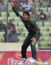 Saeed Ajmal returned to international cricket with a career worst 10-0-74-0, Bangladesh v Pakistan, 1st ODI, Mirpur, April 17, 2015