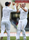 James Tredwell and Gary Ballance combined the opening wicket on day five, West Indies v England, 1st Test, North Sound, 5th day, April 17, 2015