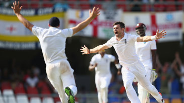 James Anderson became England's leading Test wicket-taker