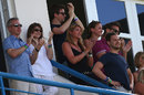 James Anderson's family and friends were at the ground to watch his historic moment, West Indies v England, 1st Test, North Sound, 5th day, April 17, 2015