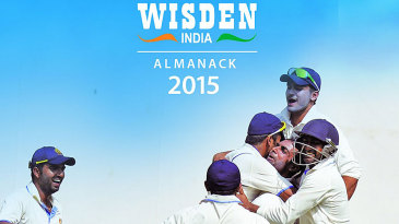 Cover of <i>Wisden India Almanack 2015</i>