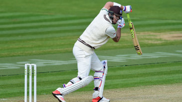 Kevin Pietersen edged a drive to be caught at slip for 19