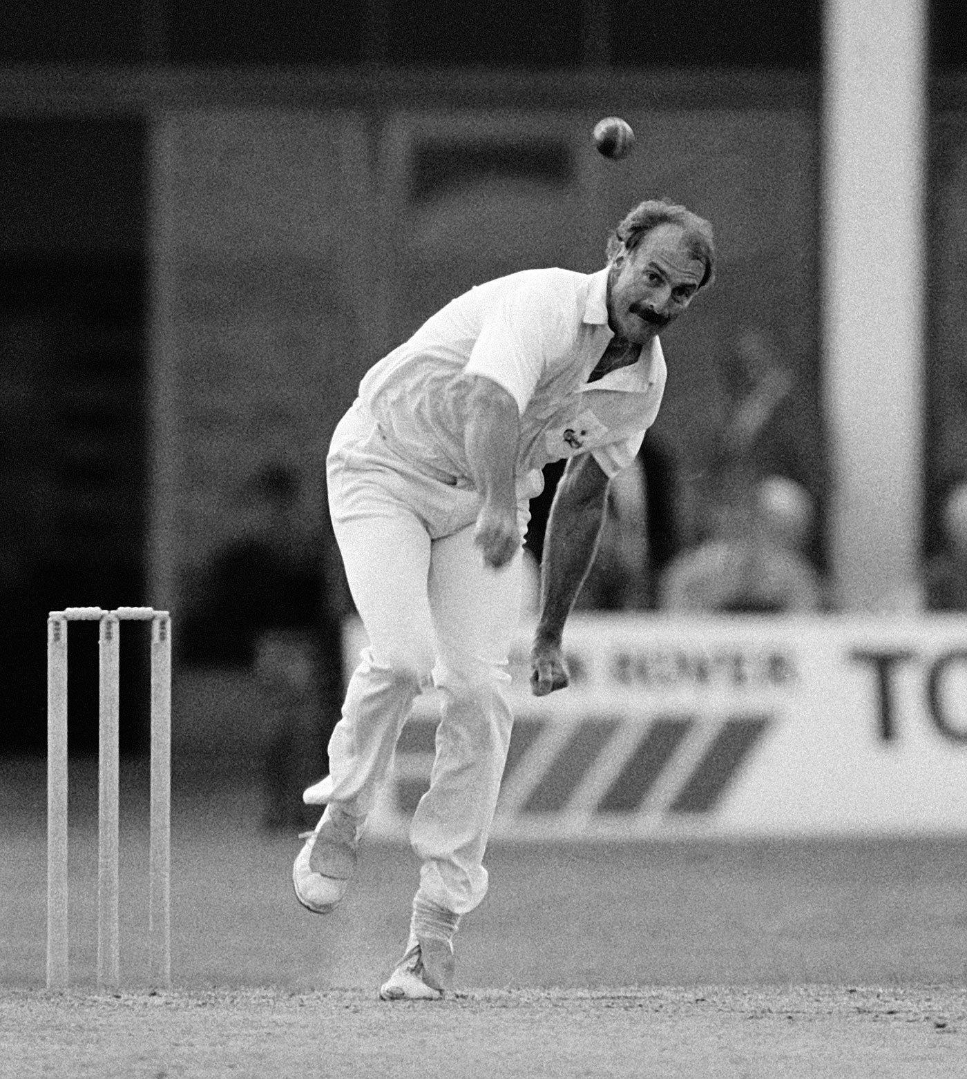 Hungry like the wolf: Lillee draws on the dregs of the tank for Northants in 1988