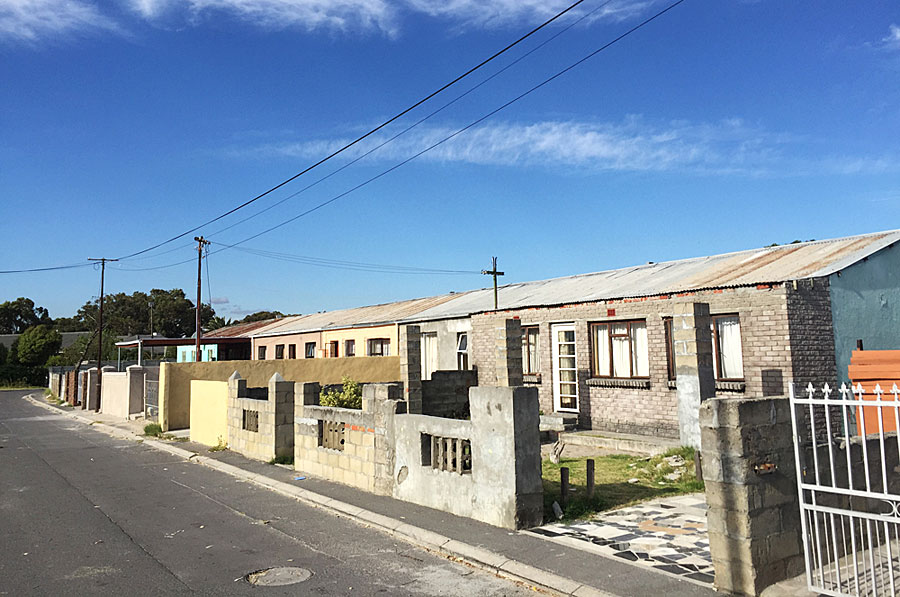 A street in Langa, the township that has produced Test cricketers Thami Tsolekile and Temba Bavuma
