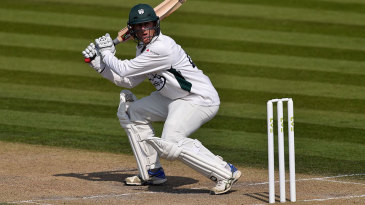 Richard Oliver led Worcestershire's innings with a century