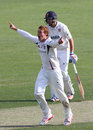 Ivan Thomas removed Tom Westley for a duck, Essex v Kent, County Championship Division Two, Chelmsford, 2nd day, April 20, 2015