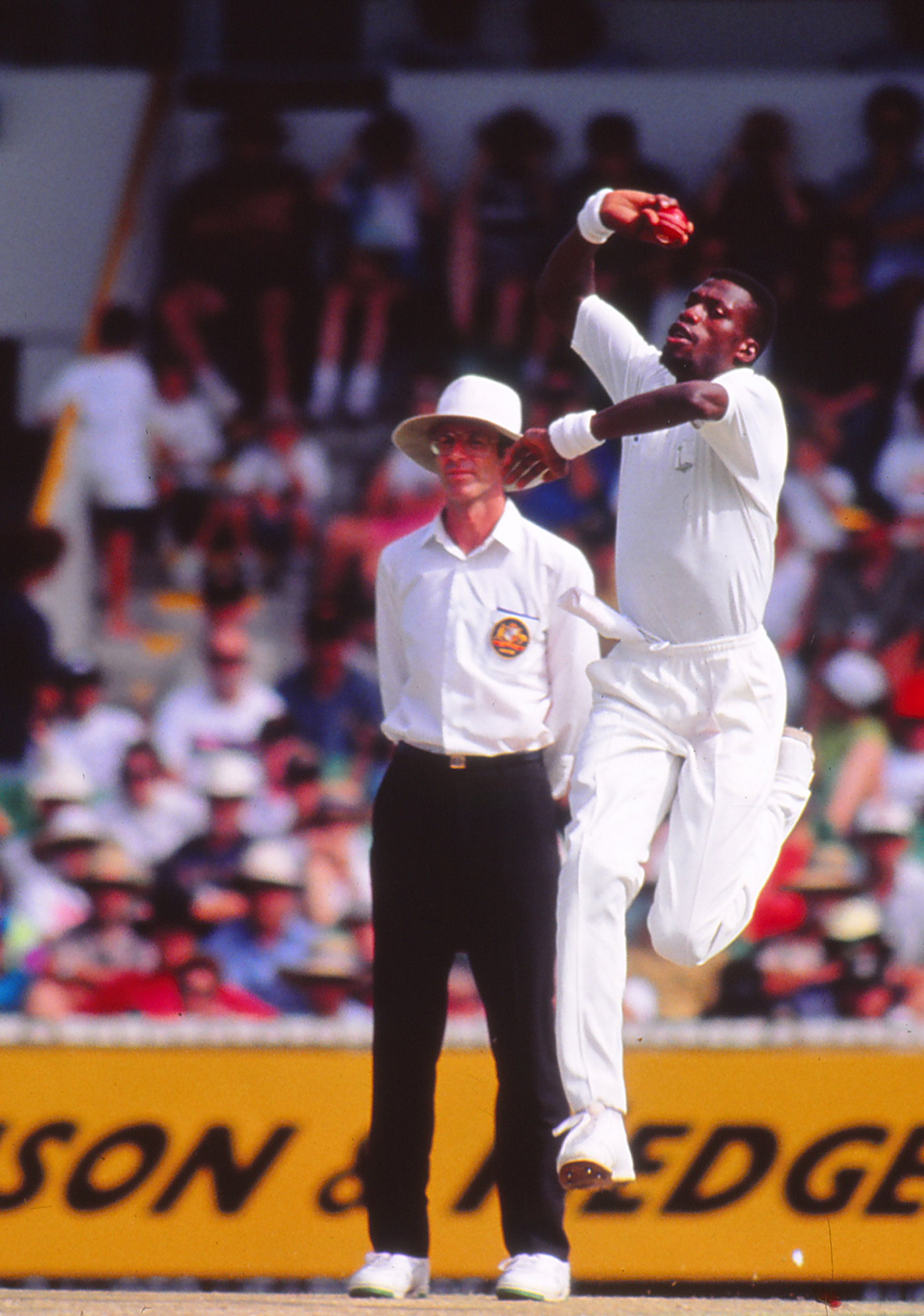 Curtly Ambrose was too fast and furious for Australia at the WACA in 1993