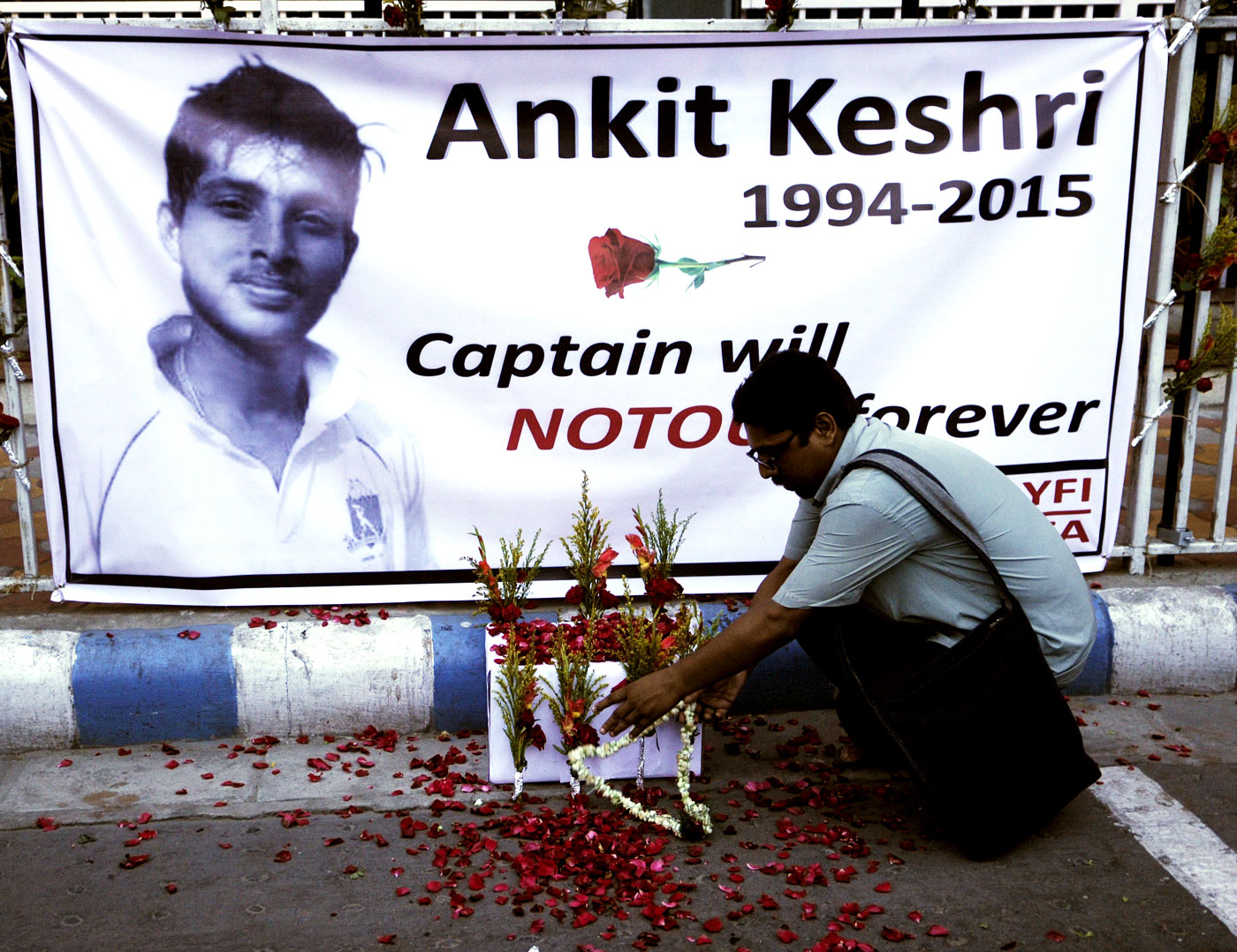 Ankit Keshri's death, unlike Phillip Hughes', was news for only a brief time