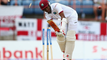 Kraigg Brathwaite was cleaned up by James Anderson