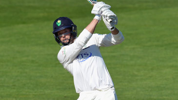 Craig Meschede's century saw Glamorgan past the follow-on mark