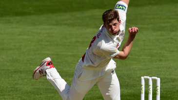 Craig Meschede picked up the big wicket of Kevin Pietersen