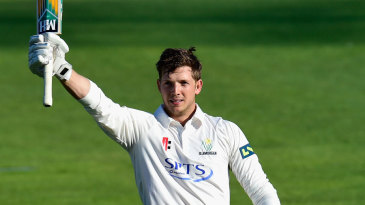 Craig Meschede celebrated his maiden hundred