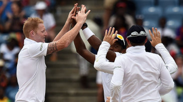 Ben Stokes struck in his first over