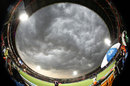 Dark clouds descend on Visakhapatnam, Sunrisers Hyderabad v Kolkata Knight Riders, IPL 2015, Vizag, April 22, 2015