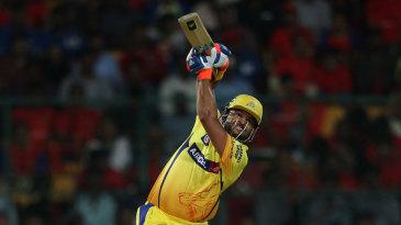 Suresh Raina launched six sixes