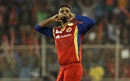 Iqbal Abdulla celebrates the wicket of Deepak Hooda, Rajasthan Royals v Royal Challengers Bangalore, IPL 2015, Ahmedabad, April 24, 2015