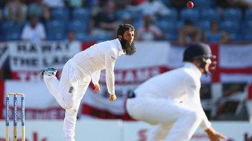 Moeen Ali struggled to create any pressure
