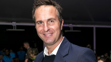 Michael Vaughan at the Natwest OSCAs at Lord's