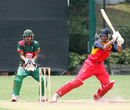 Nizakat Khan and Wicket-keeper Daniyal Syed Bukhari, HKCC v. Ch. Auto Pakistan Association at Hong Kong Cricket Club. 26th April 2015
