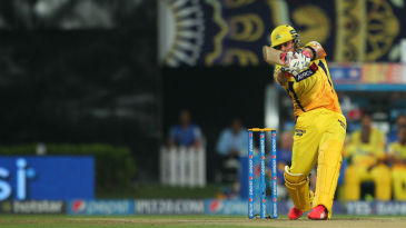 Brendon McCullum tonks it for six