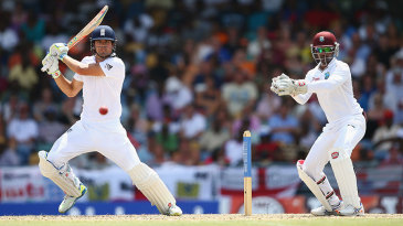 Alastair Cook played steadily to reach another half-century