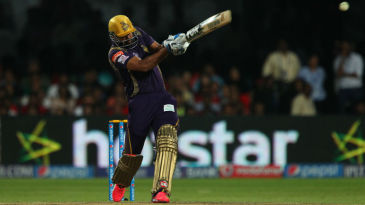 Yusuf Pathan swats the ball for six