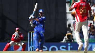 Parthiv Patel goes for a heave