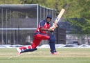 Steven Taylor completes a sweep, USA v Bermuda, ICC Americas Regional T20, Indianapolis, May 3, 2015