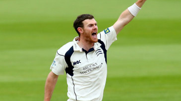 James Harris nipped out two early wickets in the Durham chase