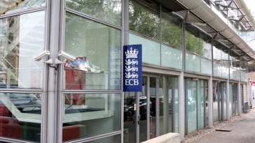 External view of the ECB offices at Lord's