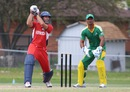 David Hemp goes over the top, Bermuda v Suriname, ICC Americas Regional T20, Indianapolis, May 5, 2015