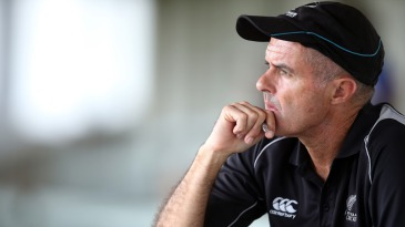 New Zealand chief selector Bruce Edgar