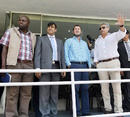 A Zimbabwe cricket delegation assessed the security arrangement in Pakistan, Lahore, May 6, 2015