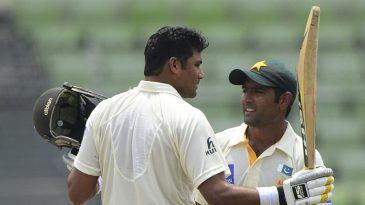 Azhar Ali and Asad Shafiq had a century partnership