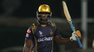 Andre Russell bludgeoned fifty off just 19 balls