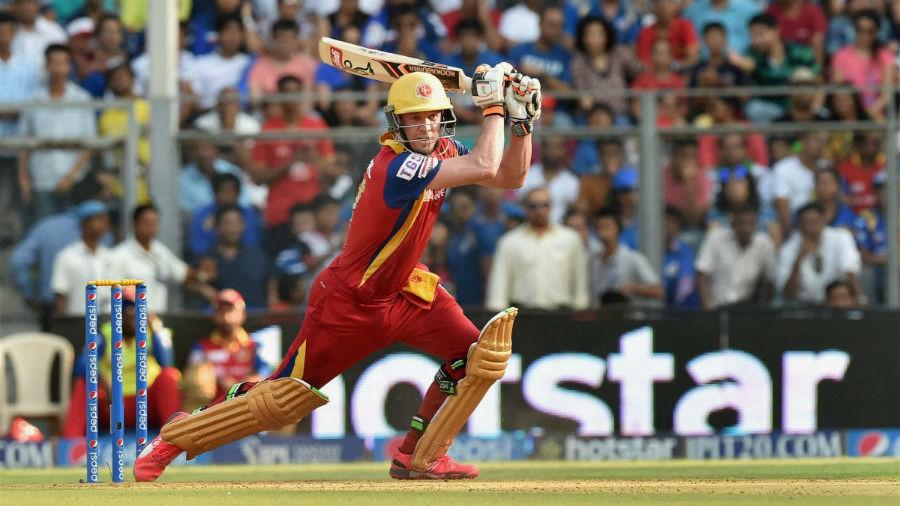AB de Villiers struck 19 fours during his unbeaten 59-ball 133