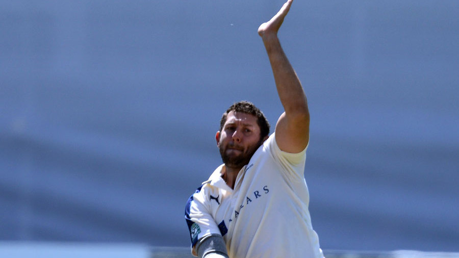 Tim Bresnan struck in his third over