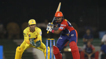 Shreyas Iyer struck 10 fours for his unbeaten 49-ball 70