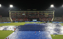 Persistent rain delayed the start in Mohali, Kings XI Punjab v Royal Challengers Bangalore, IPL 2015, Mohali, May 13, 2015