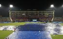Persistent rain delayed the start in Mohali, Kings XI Punjab v Royal Challengers Bangalore, IPL 2015, Mohali, May 13, 2015