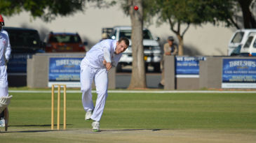 Sarel Burger ended with match figures of 5 for 66