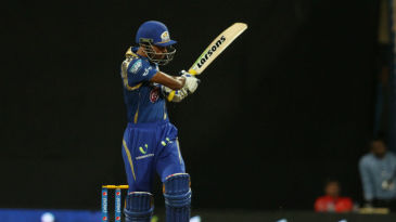 Hardik Pandya swipes for four