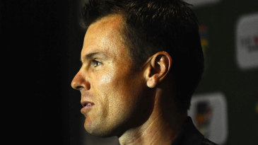 Johan Botha, South Africa's stand-in Twenty20 captain, at a press conference