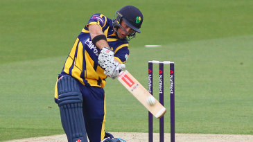 Colin Ingram plundered 91 off 47 balls