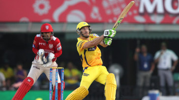 Faf du Plessis hits out during his fifty