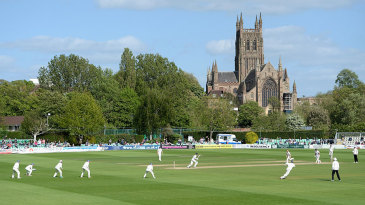 A delightful Spring day at New Road