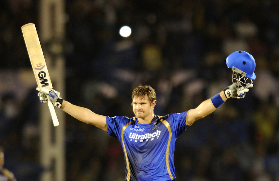 Shane Watson, however, kept going at one end and his second T20 century propelled Royals to 199 for 6