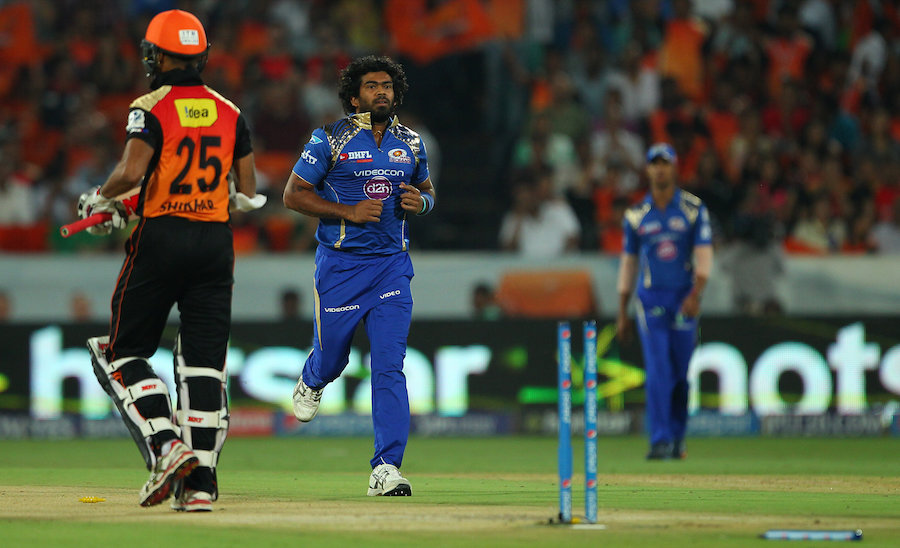 Sunrisers Hyderabad won the toss and opted to bat against Mumbai Indians, in a game that would decide which of the two teams would progress to the playoffs. Sunrisers had a poor start, losing Shikhar Dhawan for 1 in the first over