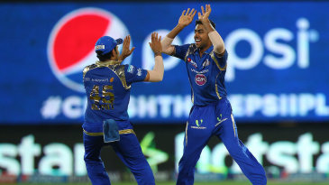 J Suchith picked up two wickets in successive deliveries to peg Sunrisers back
