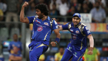 Lasith Malinga removed Dwayne Smith in the first over